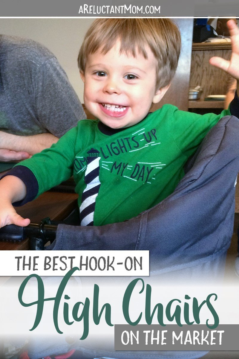 Looking for the best hook on highchair for your little one? Here are reviews and comparisons of the best hook on high chair brands, which also make the best travel high chairs, too. Save this pin and find the best clip on highchair on the market! #highchair #besthighchair #travelhighchair #babyproducts #babyregistry #babyitems | Best Clip On High Chair | Best Travel High Chair