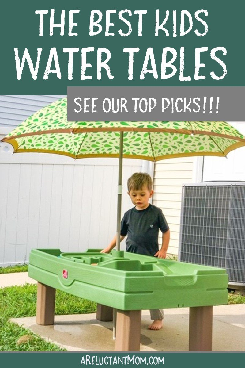 Water tables are one of the best outdoor activities for kids! They make great toddler toys, and provide awesome learning opportunities. Save this pin for the best kids water tables, because water play is one of the best toddler activities for learning! #watertables #waterplay #toddleractivities #kidsproducts #babyproducts